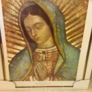 Framed Poster of Virgin of Guadalupe- glass front