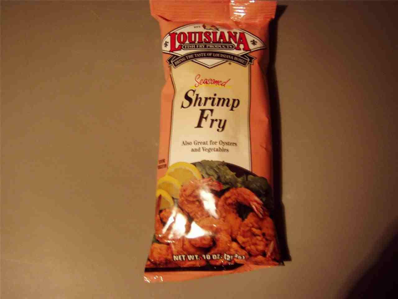 Louisiana fish fry products seasoned shrimp fry batter mix for Fish fry mix