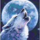 Wolf and Moon 4BP - PIxelhobby Pattern DL-3 available
