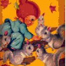 dolls-Feeding Time-4BP--Pixel Pattern Download - 5 available