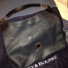 Genuine Dooney & Bourke Calf2 O-Ring Sac, Navy