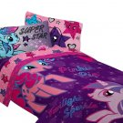 Hasbro My Little Pony The Stars are Out Sheet Set, Twin (FREE 2 DAY SHIPPING)