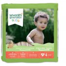 Seventh Generation Free and Clear Baby Diapers, Size 4 - 108 Count (FREE SHIPPING)