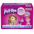 Pull-Ups Training Pants with Cool and Learn for Girls, Size 3T-4T - 66 Count