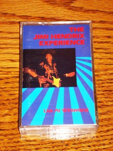 THE JIMI HENDRIX EXPERIENCE LIVE AT WINTERLAND CASSETTE