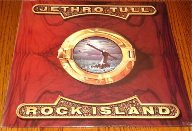JETHRO TULL ROCK ISLAND ORIGINAL LP STILL SEALED!    CANADA
