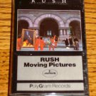 RUSH MOVING PICTURES CASSETTE