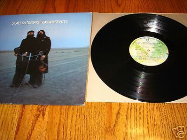 SEALS & CROFTS GREATEST HITS ORIGINAL LP