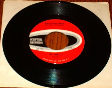 THE SHIRELLES SOLDIER BOY Original 45 rpm