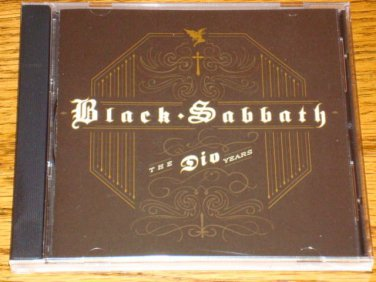 BLACK SABBATH THE DIO YEARS ORIGINAL CD