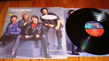 BOB SEGER LIKE A ROCK ORIGINAL LP STILL IN SHRINK
