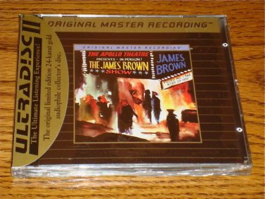 JAMES BROWN LIVE AT THE APOLLO 1962 MFSL GOLD CD SS