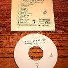 PAUL McCARTNEY FLAMING PIE Advance CD