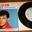 ELVIS PRESLEY Fools Fall In Love  Picture Sleeve & 45