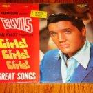 ELVIS PRESLEY GIRLS GIRLS GIRLS LP  Import