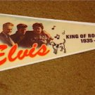 ELVIS PRESLEY PENNANT KING OF ROCK 'N ROLL 1935 - 1977 FREE USA SHIPPING!
