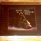 JIMMY REED CARNEGIE HALL MFSL GOLD CD SEALED !