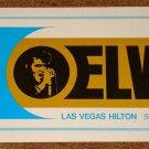 ELVIS PRESLEY SOUVENIR MENU LAS VEGAS HILTON 1973 GATEFOLD FREE USA SHIPPING!