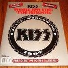 KISS ORIGINAL WORLD WIDE TOUR BOOK ALIVE WORLD WIDE 1997