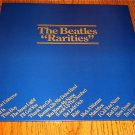 THE BEATLES RARITIES ORIGINAL PROMO LP HOLLAND IMPORT