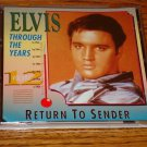 ELVIS PRESLEY THROUGH THE YEARS VOLUME 12 CD MINT!