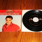 ELVIS Frankie & Johnny Picture Sleeve & 45 rpm