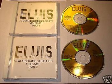 ELVIS 50 World Wide Golden Hits Volume 1 and 2