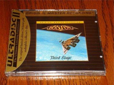 BOSTON THIRD STAGE MFSL GOLD CD Sealed OOP