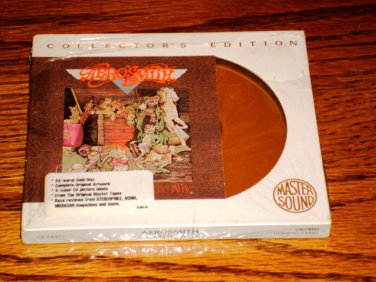 AEROSMITH TOYS IN THE ATTIC CBS Sony GOLD CD Sealed