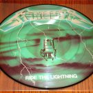 METALLICA RIDE THE LIGHTNING PICTURE DISC