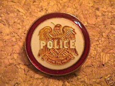 THE POLICE Hat Pin