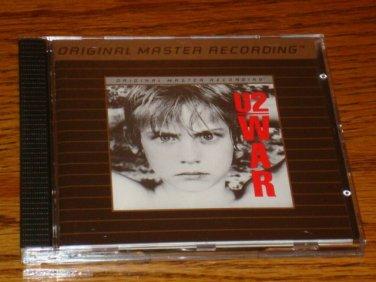 U2 War MFSL Gold CD     Mint !