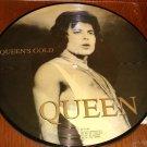 QUEEN QUEENS GOLD DOUBLE PICTURE DISC 10- INCH