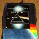 "PINK FLOYD DARK SIDE OF THE MOON 45"" X 60"" FLEECE THROW BLANKET BRAND NEW!"