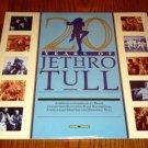 JETHRO TULL 20 Years of Jethro Tull  2-LP set.  Sealed