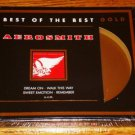 AEROSMITH BEST OF THE BEST GOLD CD   Sealed!