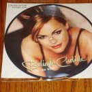 BELINDA CARLISLE IN TOO DEEP 7 INCH PICTURE DISC