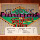 TEN YEARS AFTER THE CLASSIC PERFORMANCES OF TEN YEARS AFTER PROMO LP WITH STRIP
