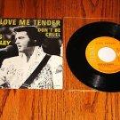 ELVIS PRESLEY Love Me Tender PICTURE SLEEVE with 45