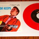ELVIS PRESLEY PLAYING FOR KEEPS  COLORED VINYL PICTURE  SLEEVE & 45