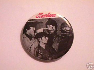 THE MONKEES BUTTON   AWESOME!