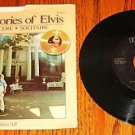 Our Memories of Elvis Original Picture Sleeve & 45 rpm