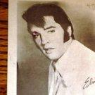 Elvis Presley Fan Club Black & White Postcard 4 x 6