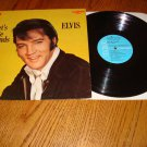 ELVIS LET'S BE FRIENDS ORIGINAL CAMDEN LABEL LP  FREE SHIPPING IN THE USA!
