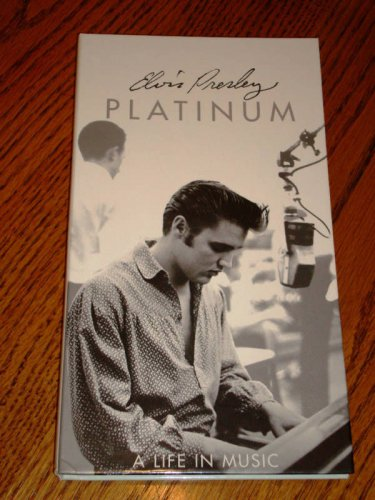 ELVIS PRESLEY PLATINUM A LIFE IN MUSIC 4-CD BOX SET