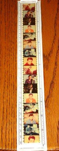 Elvis Presley 12-Inch Ruler Motion Picture Film Ruler Brand New!