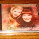 WENDY & CARNIE WILSON HEY SANTA CD   SEALED !