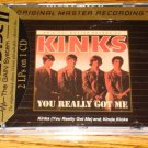 THE KINKS YOU REALLY GOT ME / KINDA KI NKS MFSL GOLD CD