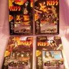 Johnny Lightning KISS Vehicles Set of 4  Sealed !