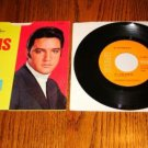 ELVIS PRESLEY If I Can Dream Picture Sleeve & 45 rpm